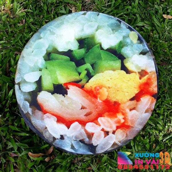 Nệm ngồi 3d - sushi