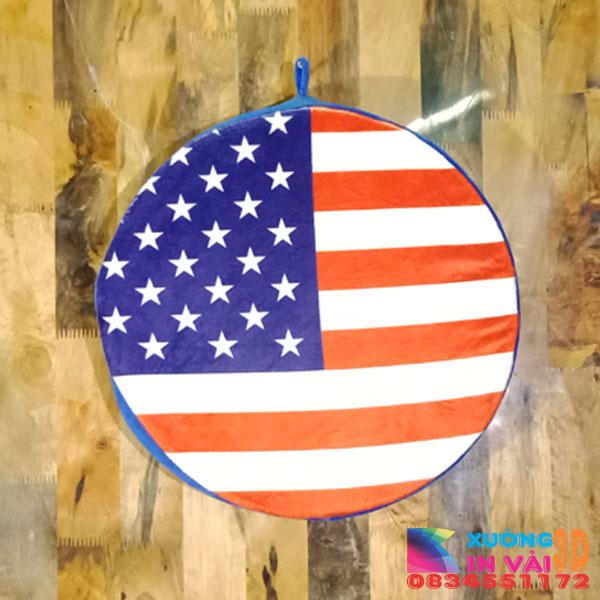 nệm ngoời 3d- cờ mỹ